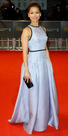 See the Looks from the2015 BAFTAs Red Carpet - Gugu Mbatha-Raw from #InStyle