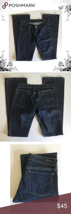 🆕{COH} Kelly Low Waist Bootcut Jeans Measurements coming soon! In awesome pre-loved condition. Dark wash. Cotton/Elastane. Fabric provides stretch. Button and zip fly closure. Bootcut. Bundle for discounts! Thank you for shopping my closet! Bin Citizens Of Humanity Jeans Boot Cut