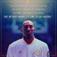 I Love Kobe...gonna miss him!!!