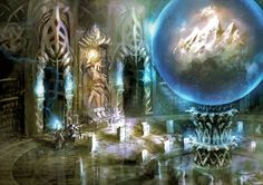 Elven sanctuary by BGK-Bengiskhan.deviantart.com on @DeviantArt
