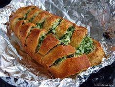 Basit bir meze - peynir ve sarımsak ile çıtır ekmek. LiveInternet tartışması - Rus Service Çevrimiçi günlüğü