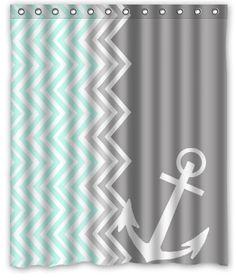 Personalized Funny Chevron Anchor Machine Washable Super Soft Shower Curtain 60'(w)x72'(h) Shower Curtain http://www.amazon.com/dp/B00LL3XQRE/ref=cm_sw_r_pi_dp_lMFgub10JM2WY