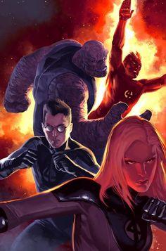 Fantastic Four by Marko Djurdjevic *