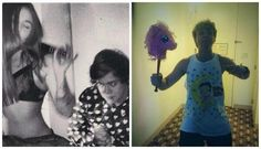 19th birthdays...sorry harry, kinda embarrassing for ashton too but it was too funny not to repin