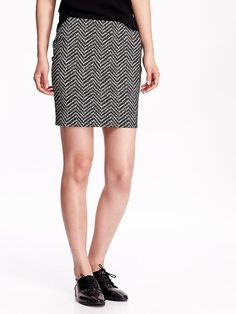 Women's Patterned Pencil Skirts Product Image