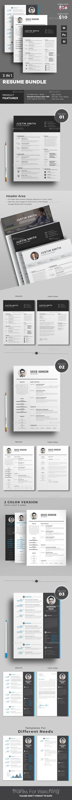 Resume Bundle 50%+ Saves on Every Purchase | Download https://graphicriver.net/item/resume/18193281?ref=themedevisers