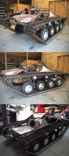 Dusty Jaystone and Joe we should try to build one Ripsaw Tank Hudlow Custom Cbx 250, Hors Route, Bug Out Vehicle, Terrain Vehicle, Chenille, Go Kart, Custom Cars, Concept Cars, Cars And Motorcycles