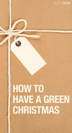 Tips for having a very green holiday!