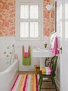 bathroom designed for kids