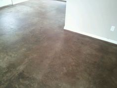 Stained concrete...desert oasis by behr