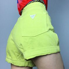 20176ff7aa 19 Best Lime green shorts images in 2016 | Short outfits, Green ...