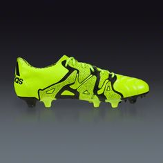 best service 8ce70 803e3 adidas X 15.1 FG AG Leather - Solar Yellow Frozen Yellow Black -