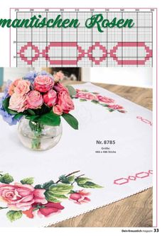 1 million+ Stunning Free Images to Use Anywhere Cross Stitch Rose, Cross Stitch Borders, Cross Stitch Flowers, Cross Stitch Patterns, Crewel Embroidery, Cross Stitch Embroidery, Free To Use Images, Rose Design, Needlepoint