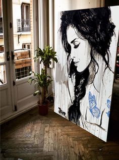 blue tattoo - private collection Paris