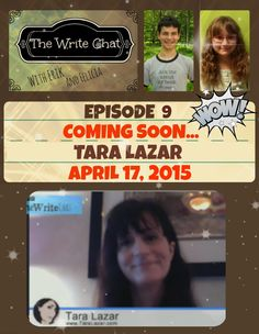 Mark your calendars! The Write Chat: Episode 9, Erik & Felicia Interview...