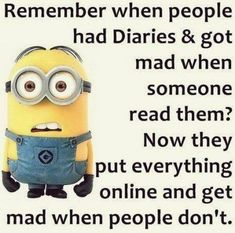 Minions are cute and lovely. They are very funny. There are many funny actions and expressions of minions which truly makes you smile. Minions are love of everyone and these comical 34 minion quote Funny Minion Memes, Minions Quotes, Funny Jokes, Minion Sayings, Minions Images, Minions Cartoon, Minions Fans, Minions Minions, Evil Minions