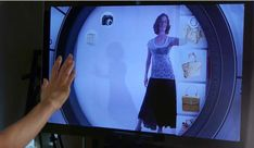 Augmented Reality Dressing Rooms