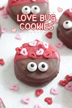 Love Bug Cookies - The cutest cookies for your Valentine