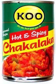 Maak jou eie Chakalaka