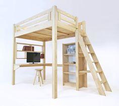 23 best Lit Mezzanine abc meubles images on Pinterest | Solid pine ...