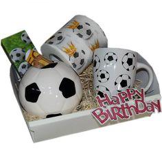 Geschenk Set Fussballer