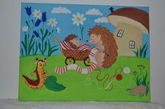 #pictureforkids #hedgehog #ježek
