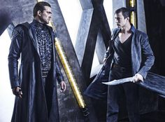 Meet the cast of Syfy's Dominion with 17 new promo pics from the angel war drama