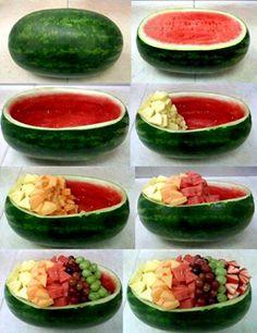 Supercool: Watermelon Fruit Bowl