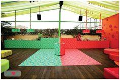 Festa meio a meio - by Nina Vila, Eventando #party #idea #colors #casadasamigas