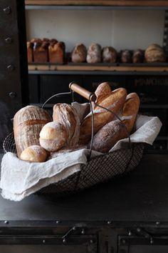 Loaves of beautiful, rustic bread Rustic Bread, Birthday Desserts, Our Daily Bread, Fresh Bread, Artisan Bread, Bread Rolls, Bread Baking, Fresh Fruit, Food Styling