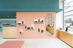 Des Ailes Aux Pieds - shoe shop - Margaux Keller Design Studio