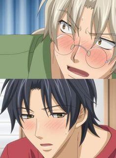 Morinaga Tetsuhiro x Tatsumi Souichi / Koi Suru Boukun I Love Anime, Anime Guys, Ai No Kusabi, Nisekoi, Bishounen, Manga Boy, Shounen Ai, Love Is Free, Anime Ships
