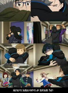 Katsuki Yuri, ユーリ!!! On Ice, Yuri On Ice, Memes, I Laughed, Anime Stuff, Fandoms, Pasta, Kawaii