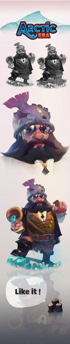 Arctic on Behance Character Design Animation, Character Design References, Game Character, Character Concept, Concept Art, Fantasy Characters, Cartoon Characters, Character Illustration, Illustration Art