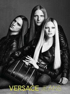 Sasha Luss for Versace Jeans 2014 Promo