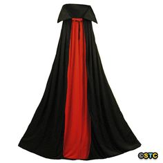 Black Cloak*  * Lined in RED $25