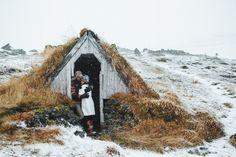 Iceland Wedding Budir074 Chris & Julie Married. Búðir, Iceland.