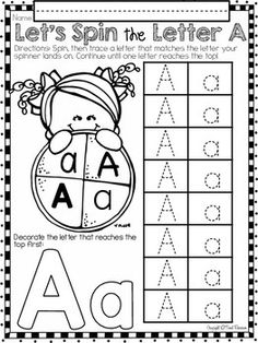ALPHABET A LETTER OF THE WEEK (A) For your letter of the week PHONICS activities, Tweet Resources has created a comprehensive alphabet program that will compliment your classroom. There are more than 20 pages of letter sound printables that include fun activities such as letter crowns, letter bracelets, interactive notebook activities and foldable booklets. FREEBIE