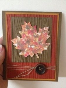 autumn card making ideas - Google Search