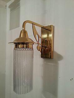 ¤ Wandlampe by Koloman Moser. Applique par Koloman Moser. Wiener Werkstatte