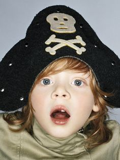 Pirate hat for pretend play