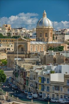 Kalkara, Malta Beautiful Places To Visit, Places Ive Been, Paris Skyline, Taj Mahal, Around The Worlds, Europe, Country, City, Building