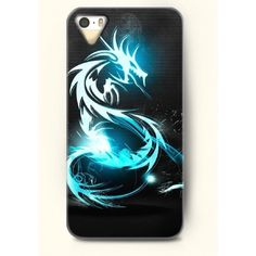 OOFIT Phone Case design with Dragon for Apple iPhone 5 5s 5g (€7,98) ❤ liked on Polyvore featuring accessories and tech accessories