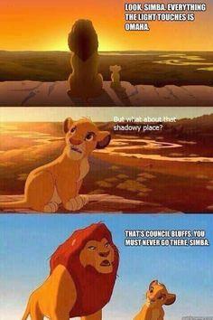 Lion king Nebraska meme