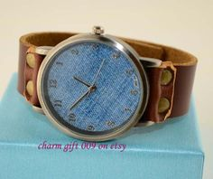 100 pure leather cowboy style restoring ancient by Charmgift009, $15.99