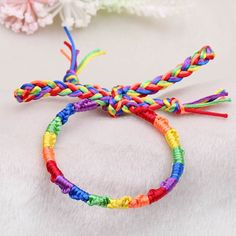 - This is perfect for any LGBT Supporters! - While Supplies Last! Limit 10 Per Order Please allow 4-6 weeks for shipping Item Type: Bracelet Color: Multicolor Material: Zinc Alloy Size: 19cm + 5cm