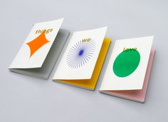 Print – Things we love, form and thought by Studio fnt.