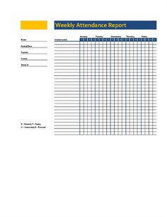 School attendance sheet template is a document which is used to keep the record of students or even the teachers, to know how many of them are present and who were absent. Education Templates, Office Templates, Free Education, Education Office, Attendance Sheet Template, Anger Management Activities, School Attendance, Word Free, Templates Printable Free
