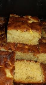 Greek Sweets, Greek Desserts, Greek Recipes, Apple Cake Recipes, Apple Desserts, Sweets Recipes, Apple Cakes, Greek Cake, Greek Cooking
