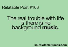Music Quotes About Life | life, music, no background music, quotes - inspiring picture on Favim ...